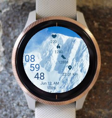 Garmin Watch Face - Everest