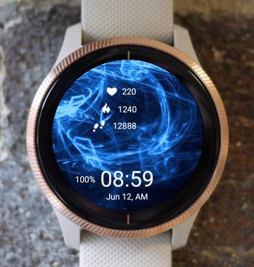 Garmin Watch Face - Blue Light