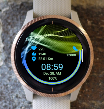 Garmin Watch Face - Ga Quantum