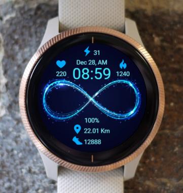 Garmin Watch Face - B Infinite R