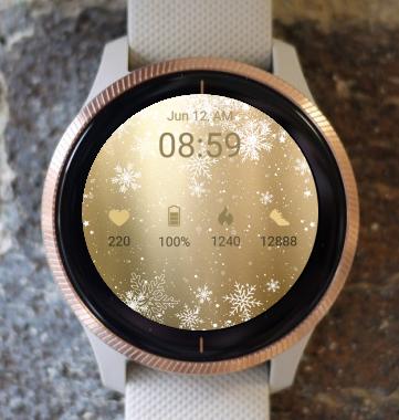 Garmin Watch Face - Golden Life