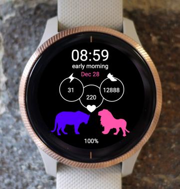 Garmin Watch Face - G-Lions