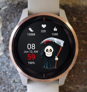 Garmin Watch Face - Halloween DT
