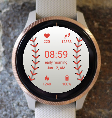 Garmin Watch Face - Baseball