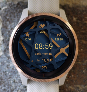 Garmin Watch Face - Lattice