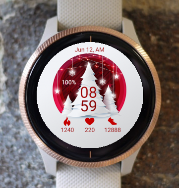 Garmin Watch Face - Christmas CR
