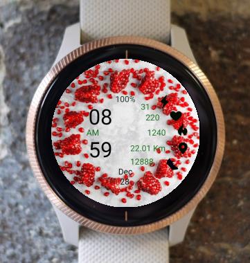 Garmin Watch Face - pomegranate 02
