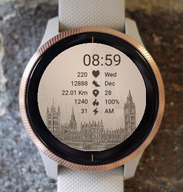 Garmin Watch Face - City - London