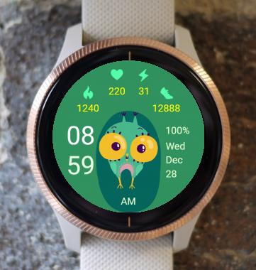 Garmin Watch Face - Owl