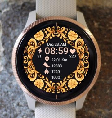Garmin Watch Face - Ga Decoration