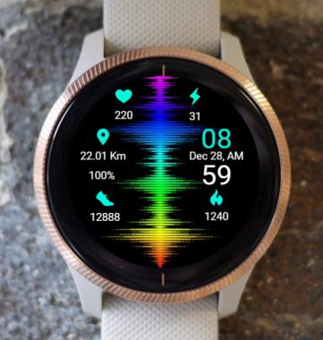 Garmin Watch Face - RR Quantum  R