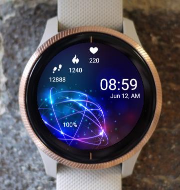 Garmin Watch Face - Vortex
