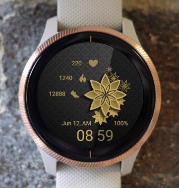 Garmin Watch Face - Mandala C20