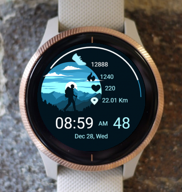 Garmin Watch Face - Hiking