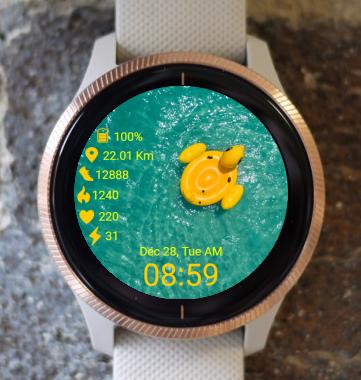 Garmin Watch Face - Vacation
