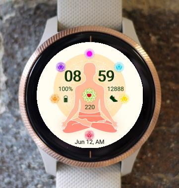 Garmin Watch Face - Unity 8