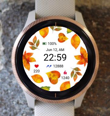 Garmin Watch Face - Autumn Magic 28