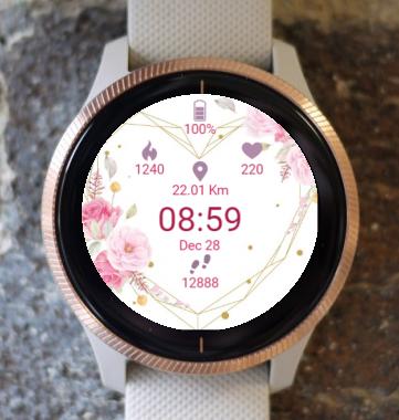 Garmin Watch Face - Love Message
