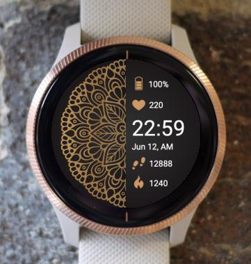 Garmin Watch Face - Mandala