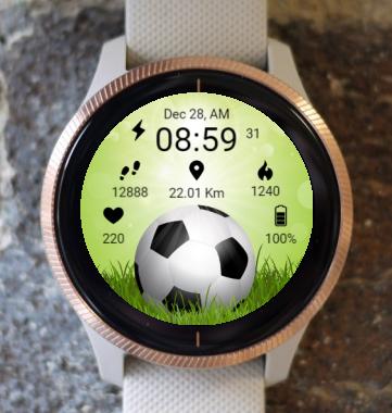 Garmin Watch Face - Football