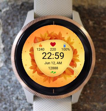 Garmin Watch Face - Autumn Magic 29