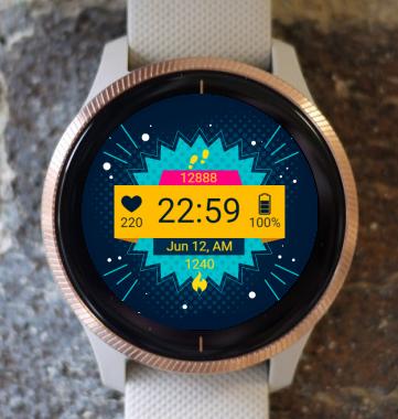 Garmin Watch Face - Active G