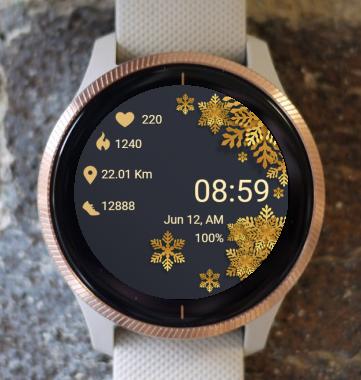 Garmin Watch Face - Christmas GD