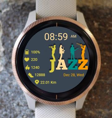 Garmin Watch Face - Jazz