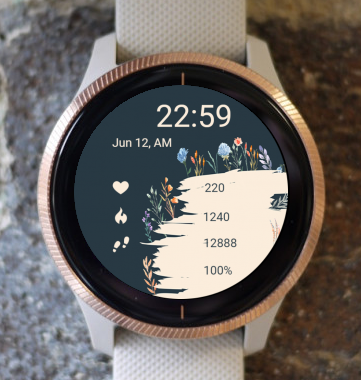 Garmin Watch Face - Meadow