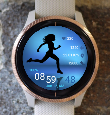 Garmin Watch Face - Run 06