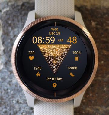 Garmin Watch Face - Golden Triangle