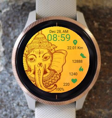 Garmin Watch Face - RR Ganesha