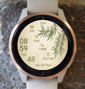 Garmin Watch Face - Bamboo