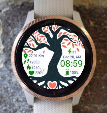 Garmin Watch Face - Tree Of Life