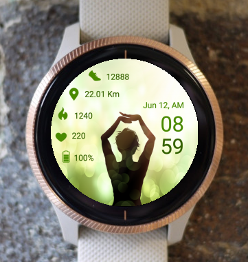 Garmin Watch Face - Yoga One