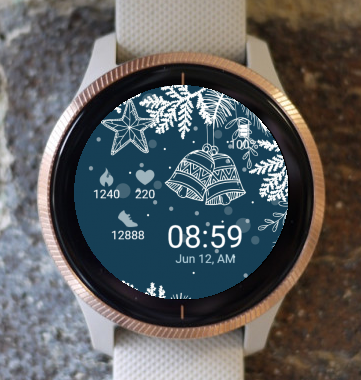 Garmin Watch Face - Christmas Bells G
