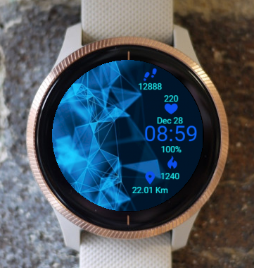 Garmin Watch Face - Light Crystal