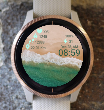 Garmin Watch Face - R X Sea