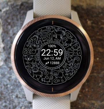 Garmin Watch Face - Zodiac 06