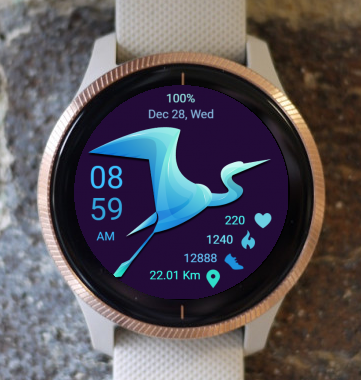 Garmin Watch Face - Bird 07