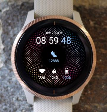 Garmin Watch Face - Dots