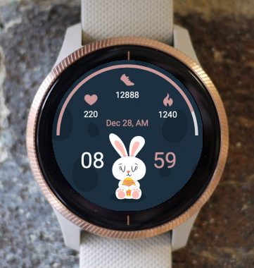 Garmin Watch Face - Easter Day