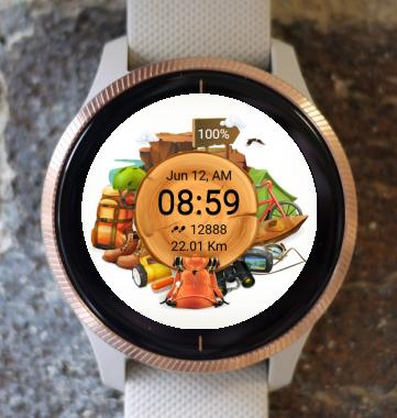 Garmin Watch Face - Take a tour