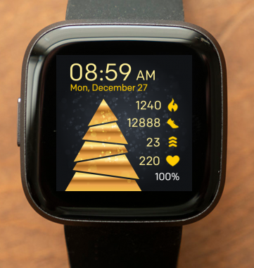 Gold Christmas