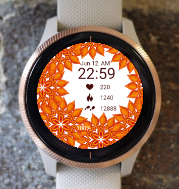 Garmin Watch Face - Autumn Lawn