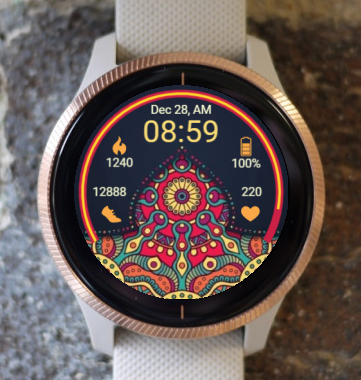 Garmin Watch Face - Ga Mandala 5