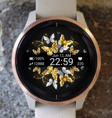 Garmin Watch Face - Butterfly 01