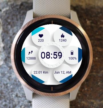 Garmin Watch Face - Blue Phenomenon