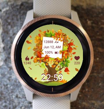 Garmin Watch Face - Autumn Magic 16