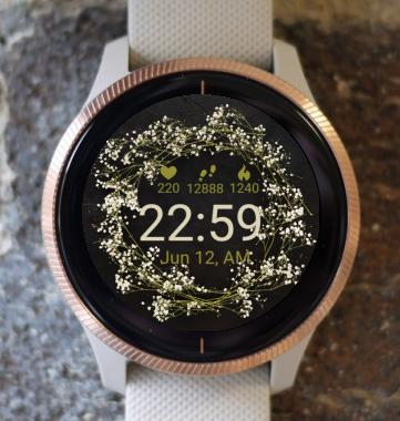 Garmin Watch Face - Wild Flower G